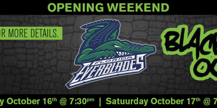 Florida Everblades – Black Out Weekend